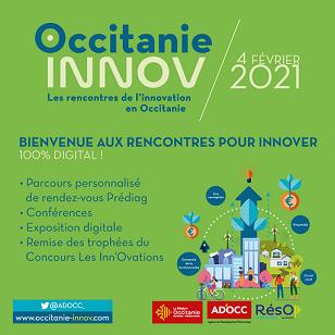 L'Institut Carnot Carnot sera présent à Occitanie INNOV 2021 !